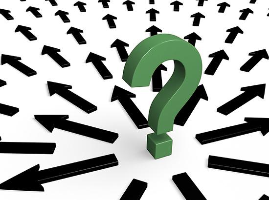 question mark - confusion